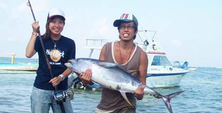 Bali Jigging Fishing